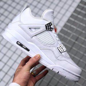 """Air Jordan 4 """"Pure Money"""" Silver"""